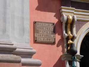 Reiseblog - Heilige Linde - Hinweis Basilika