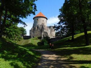 Reiseblog - Lettland - Cesis Burgturm
