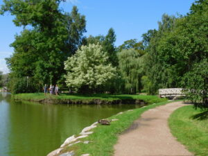 Reiseblog - Lettland - Cesis Park 3
