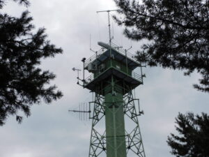 Reiseblog Radarturm Grenze