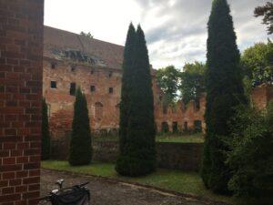 Reiseblog Ruine Deutschritterorden in Pieniezno