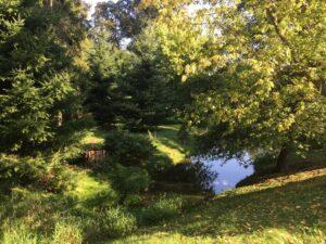 Reiseblog - Schloss Tarce - Park 1