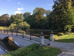 Reiseblog - Schloss Tarce - Park Brücke