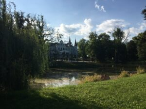 Reiseblog - Schloss Tarce - Schloss 2
