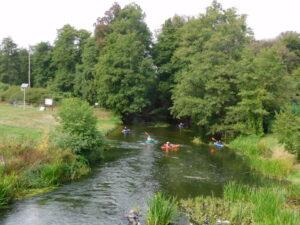 Reiseblog - Stary Dworek - Kajaks auf der Oder