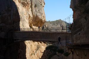 die letzte Brücke, die man überqueren muss.