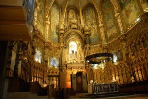 Nochmal ein Bild von der Basilika innen.