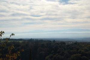Noch ein Blick über das Tal.