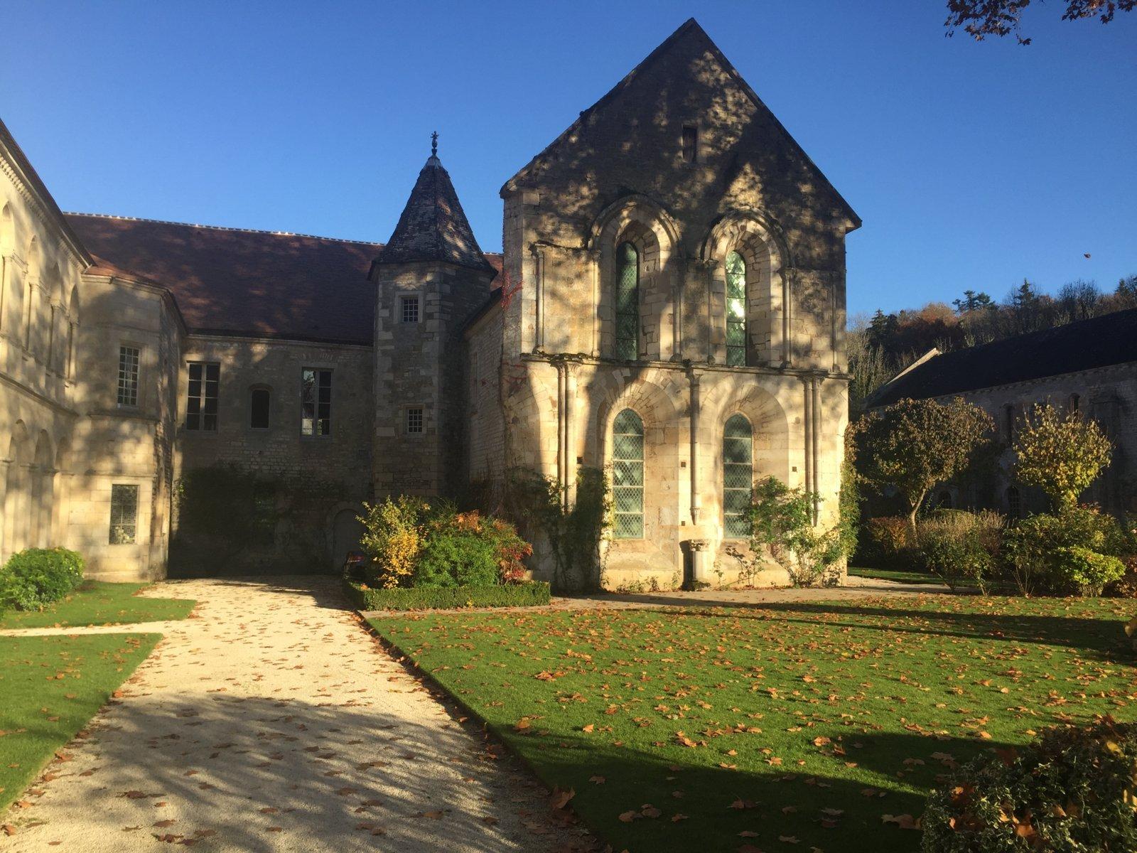 """Ein Gebäudeteil im Kloster Fontenay, genannt """"Gefängnis"""""""