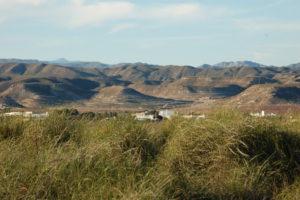 karge Landschaft im Cabo de Gata