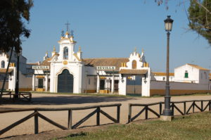 "das Pilgerhaus der Bruderschaft ""Sevilla"""