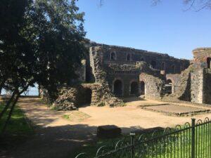Ruine der Kaiserpfalz Düsseldorf