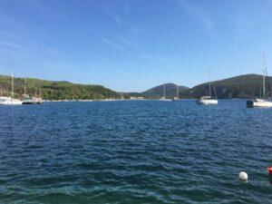 Natürlicher Hafen in Chalkidiki