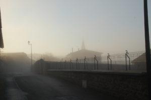 Reiseblog: St. Romain im Nebel