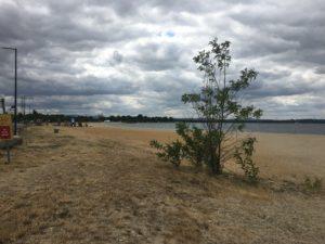 Der Strand am Betzdorfer See