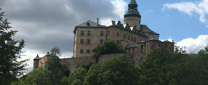 Das Burgschloss in Friedland in Böhmen