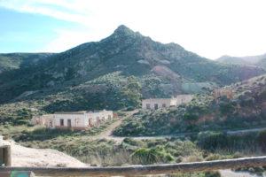 Das verlassene Minendorf Poblado San Diego
