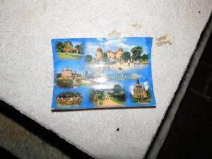 Postkarte an einen Verstorbenen