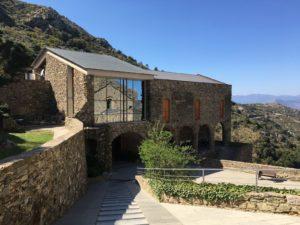 Eingangsgebäude des Klosters