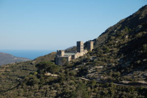 Nochmal das KLoster Sant Pere de Rodes von der anderen Seite aufgenommen