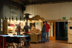 Im Inneren der Weinkellerei