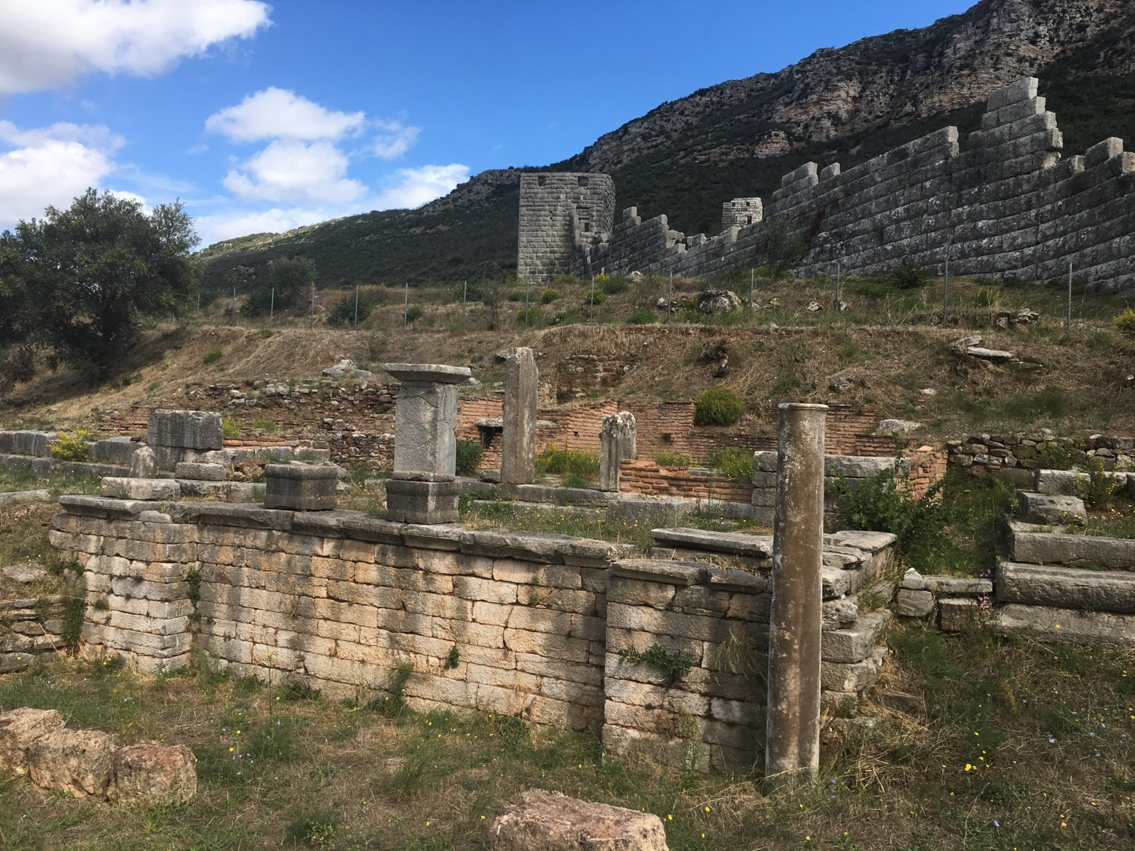 Stadtmauer Messena