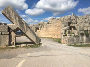 antikes Stadttor von Messena