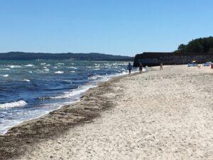 Strand am Koloss