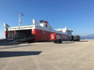 Reiseblog: Autofähre Patras - Bari
