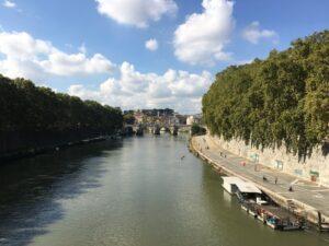 Der Tiber in Rom