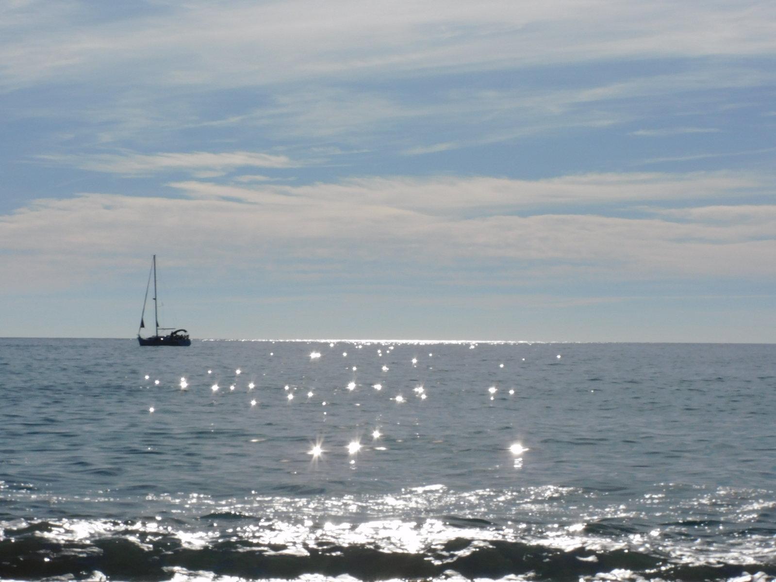 Das Meer von der Playa de Maro