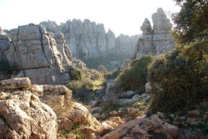 Kalksteinspitzen