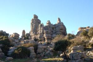 Kalksteinfelsen