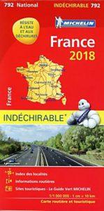 Michelin Straßenkarte Frankreich 2018